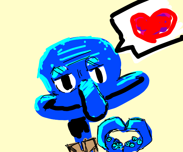 squidward loves you