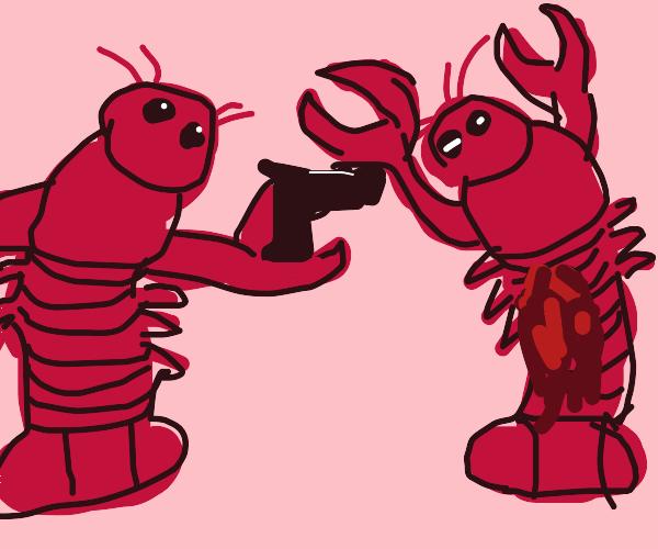 Lobster murder