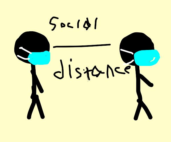 Social Distancing and Wearing Masks