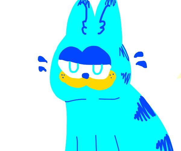 Purple Garfield