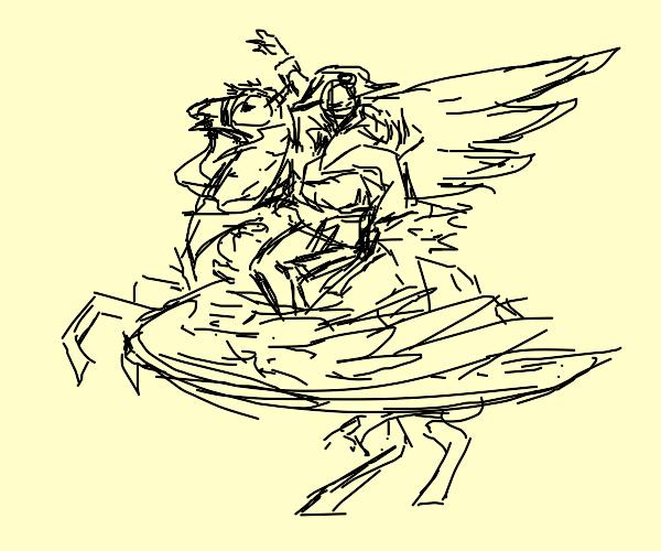 Napoleon on a Pegasus