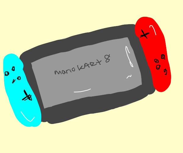 a nintendo switch