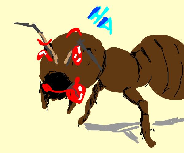 Goofy Ant