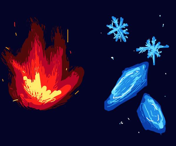 Fire and Ice Elemental