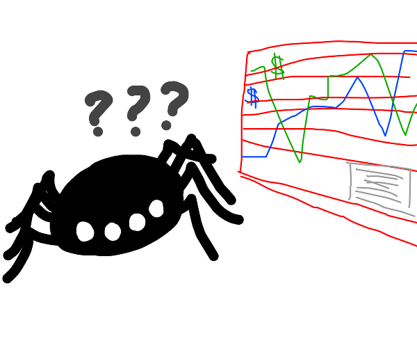 Spider is not good economist
