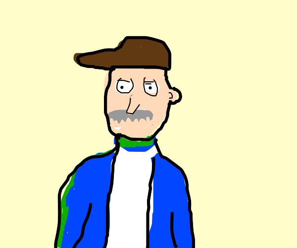 The janitor from Futurama