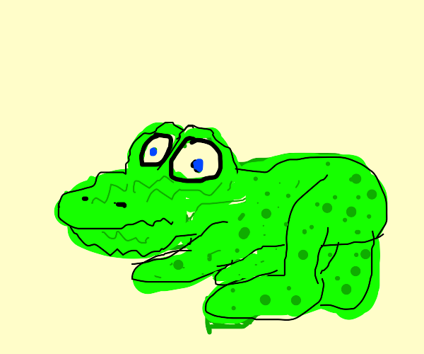 A frog but uglier