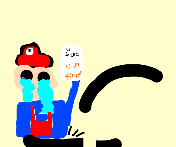Mario can't jump and gets fired