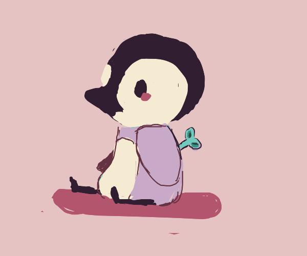 1800's robot penguin