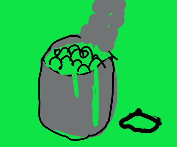 Boiling gatorade