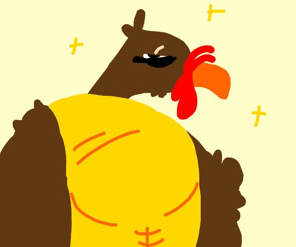 Anthropomorphic Turkey