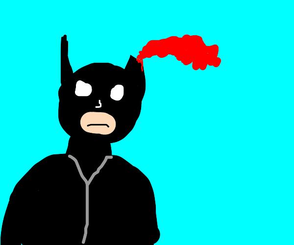 batman is in need of medical help