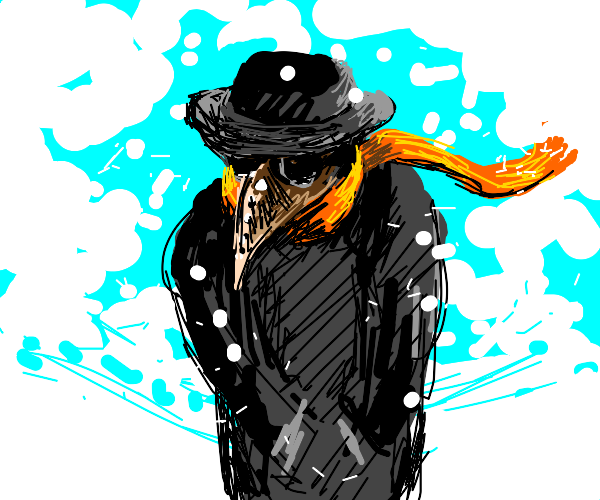 Chilly plague doctor