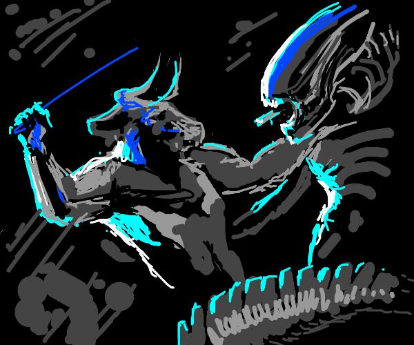 Xenomorph vs Minotaur