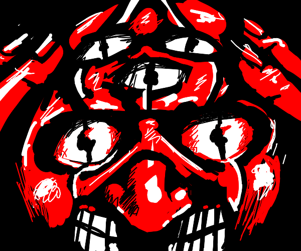 many-eyed clown devil