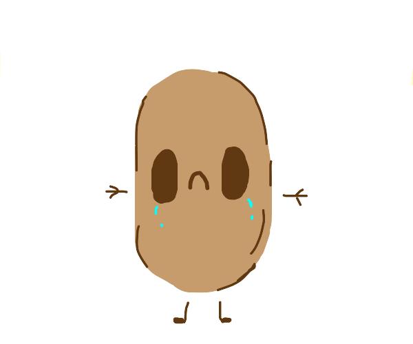 Sad potato boi