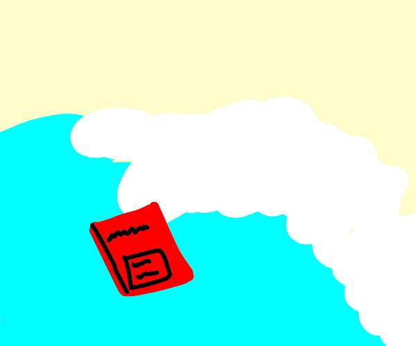 Notebook in a Tsunami