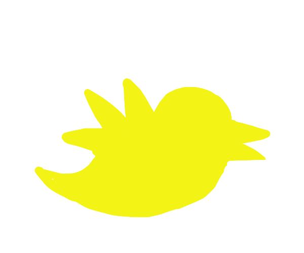Yellow twiter