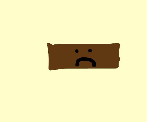 sad brick