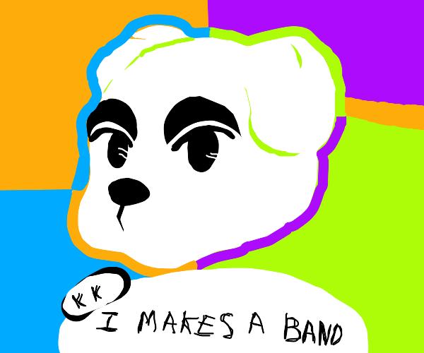 K.K. Slider makes a band