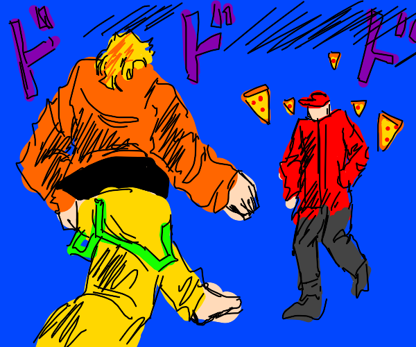 jojo character vs delivery man