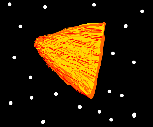 A Dorito in a different dimension