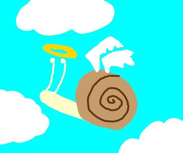 A holy snail