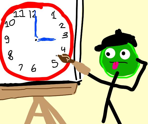 Clock artist