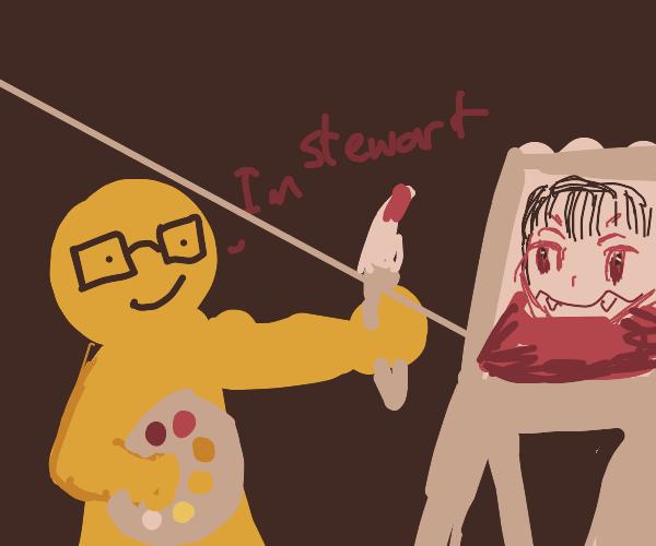 draw with STEWART