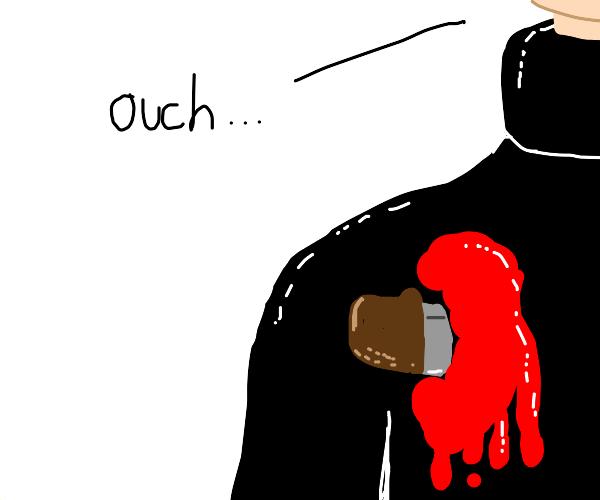 A fatal stabbing