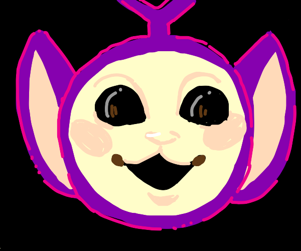 purple teletubbie