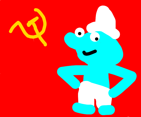 A smurf talks about Communism