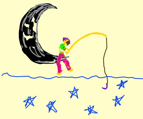 Fishing for a star