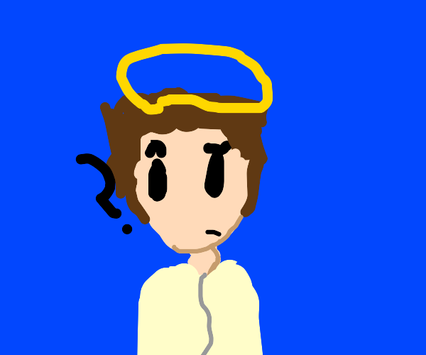 Confused angel