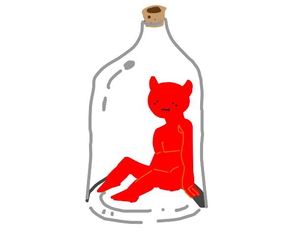 A demon in a bottle