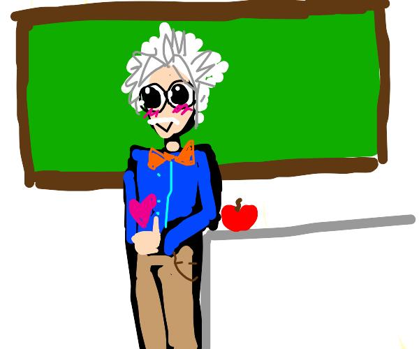 Cute Professor
