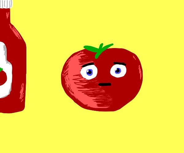 Tomato has existential crisis
