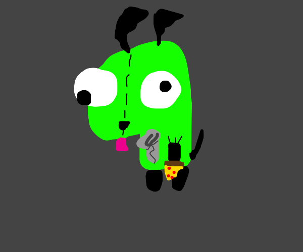 Gir suit from Invader Zim