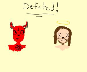 LaVeyan Satanist defeats Christian