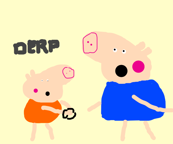 peppa pig police officer protecting prisonor