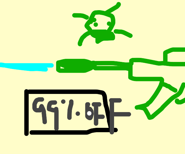 sale on toxic supersoakers