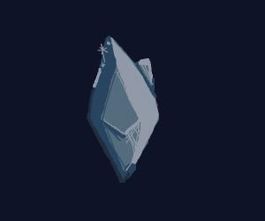 Rare blue gem
