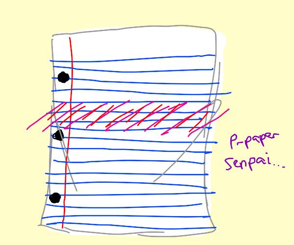 paper is senpai