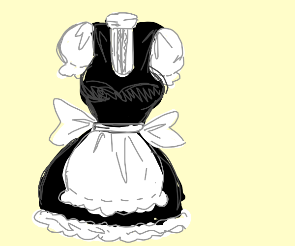 Kawaii maid outfit