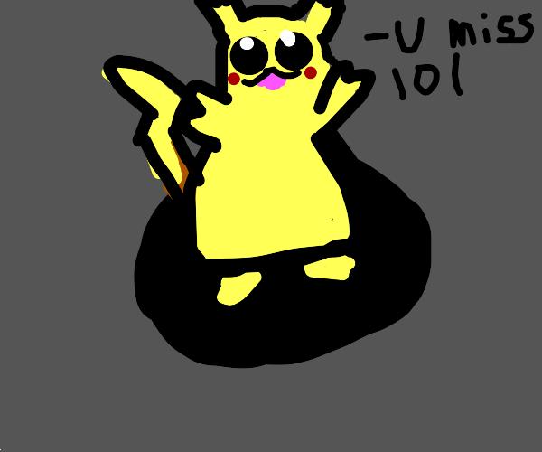 pikachu mocks you for missing the shot