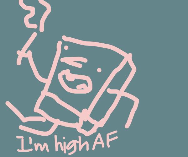 High AF Spongebob