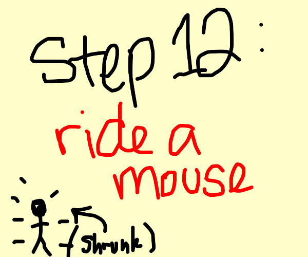 Step 11: shrink to 1/100th your size