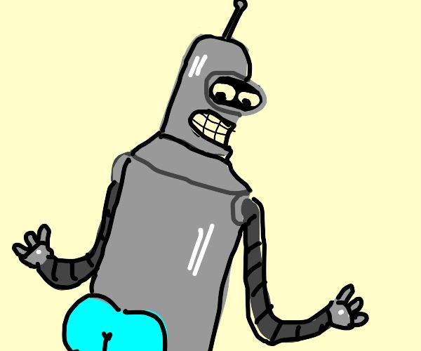 FUTURAMA ROBOT ASS