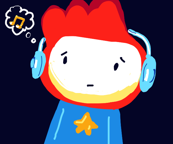 Scribblenauts trying to remember a song title