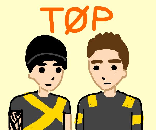 Tyler Joseph and Josh Dun